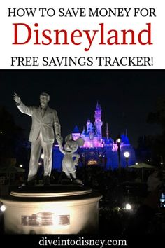 Excited about the prospect of visiting Mickey Mouse but it's not in the budget? Learn how to save money for Disneyland vacations and start packing! Disney   Trip Planning   Budget   Travel Disneyland Dining, Disneyland Tips, Disneyland Resort, Disneyland Vacations, Disney Trips, Travel Fund, Travel Money, Budget Travel, Disney On A Budget