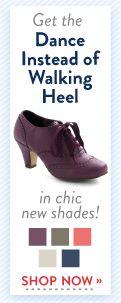 Dance Instead of Walking Heel in Pink | Mod Retro Vintage Heels | ModCloth.com