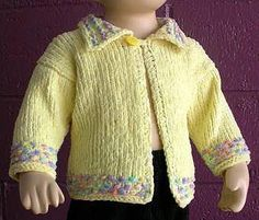 Baby Sweater With Collar - free