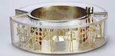 Asagi Maeda - department store of dreams bracelet : silver, gold, enamel, perspex Candy Jewelry, Enamel Jewelry, Resin Jewelry, Jewelry Art, Beaded Jewelry, Contemporary Jewellery, Modern Jewelry, Handmade Jewelry Designs, Bangle Bracelets