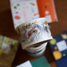 Especially loving this gorgeous animal washi tape from Aimez le Style!