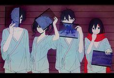 Anime - Kagerou Project Ene Konoha Shintaro Kisaragi Ayano Tateyama Wallpaper