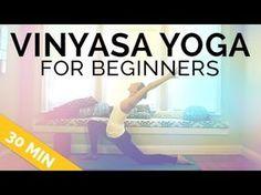 Vinyasa Yoga for Beginners (30 mins) - What Is Vinyasa Yoga Flow? https://youtu.be/tJsj4ruWat0 via @YouTube