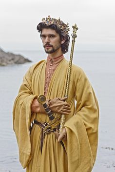 """Ben Whishaw, Richard II in BBC 2012,  The Hollow Crown Let's talk of graves, of worms, and epitaphs; Make dust our paper and with rainy eyes Write sorrow on the bosom of the earth, Let's choose executors and talk of wills""""  ― William Shakespeare, Richard II"""