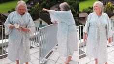 Kimono nähen für Anfänger   aus Ikea- oder alter Bettwäsche   Kimono Kantan ni…