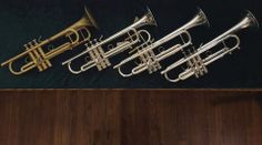 A nice collection of Stomvi Bb trumpets, a little something for everyone. https://www.facebook.com/pages/Stomvi-USA/106129483617?fref=ts  http://www.youtube.com/user/stomviusavideo  http://stomvi-usa.com/