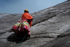 For years, Lydia Huayllas, 48, has worked as a cook at base camps and mountain-climbing refuges on the steep, glacial slopes of Huayna Potosi, a 19,974-foot (6,088-meter) Andean peak outside of La Paz, Bolivia.