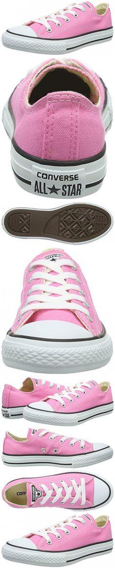 Converse Girls Chuck Taylor All Star Classic 4-7 yrs Pink Sneaker - 2.5