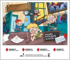 Finland - The Dudesons Duudsonit Stamps Prevent School Bullying MHN S/S 2014