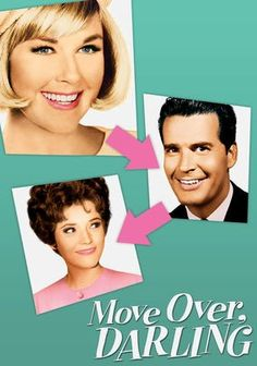 Doris Day as the presumed dead first wife arriving back home, only to find it's her husband's wedding day to new wife.  Hilarity ensues.