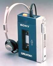 A Sony Walkman! An interesting 70s section on this website.