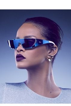 ディオールがリアーナとコラボレーションしたサングラスを発表