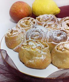Torta di rose con mele, dolci ricette