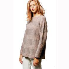 Jo Sharp Moss Stitch Sweater PDF