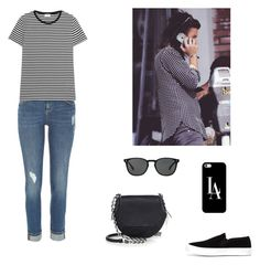 """""""Harry Styles."""" by roci28 ❤ liked on Polyvore featuring River Island, Yves Saint Laurent, rag & bone, Casetify and Oliver Peoples"""