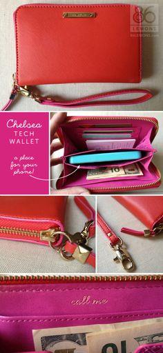 Stella & Dot Chelsea Tech Wallet in Poppy  www.stelladot.com/livvy