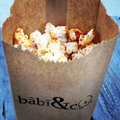 Spicy Popcorn from Babi & Co -- by @OrchardBloom | April 2012, #TUM