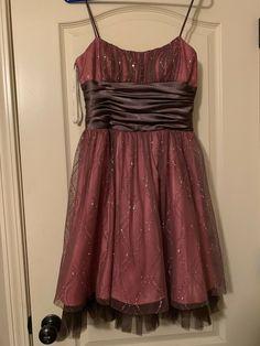 ec5c874da59 Prom Dress Dance Pretty Sparkle Pink Short NWT Dillards - dillards