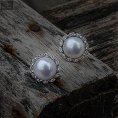 Pure Silver Studs with pearls that gives a beautiful look for the women and girls #silver #silverjewellery #pearls #pearljewellery #zirconiastones #studs #silverstuds #beautifulearrings #silverstore #pearlearrings #silverornaments #pearlstuds #earringswithpearls #stonedearrings #earringswithstone