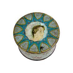 Vintage Fabiola of Belgium Decorative Wedding Tin