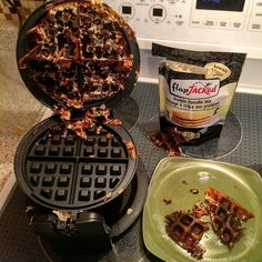 Hello from fail city. Protein waffles are a negative.