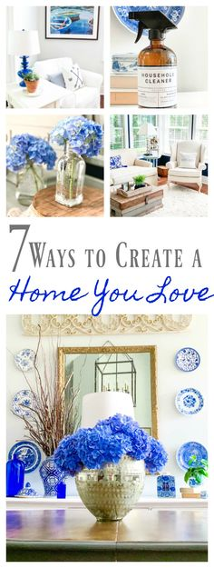 7 Ways to Create a Home You Love - 2 Bees in a Pod