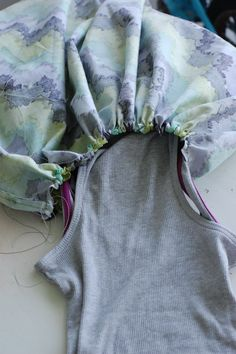 wanna make a dress?? | A Small Snippet    ( I can see using vintage sheets for this also )