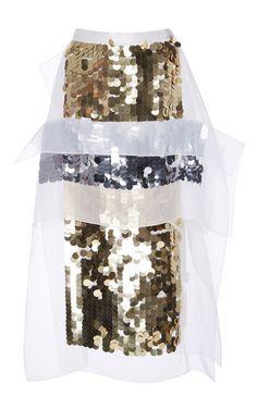 Christopher Kane  Sequin Midi Skirt