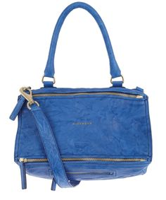 Blue Pandora Medium Shoulder Bag, Givenchy.