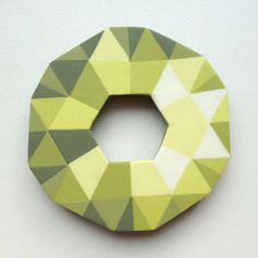 Swarovski Polymer Clay Brooch