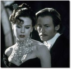 The most expensive piece of jewellery designed for a movie was the necklace worn by Nicole Kidman in Moulin Rouge. The 134 carat diamond necklace with 1,308 diamonds cost $1 million and was created by Stefano Canturi.