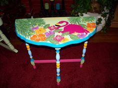 Flamingo table. I have one of these and it will be an OWL table.