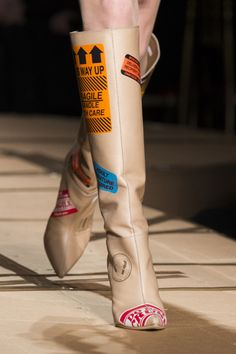 Moschino Fall 2017 RTW Shoes