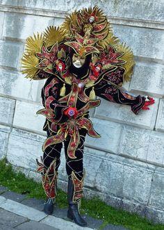 near the Church of Santa Maria della Salute , Venice Carnival Date, Mardi Gras Carnival, Venetian Carnival Masks, Carnival Of Venice, Venetian Masquerade, Masquerade Ball, Mardi Gras Costumes, Carnival Costumes, Creative Costumes