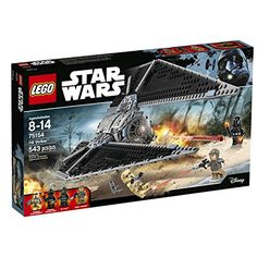 Play out iconic sky battles with the amazing TIE Striker. With large adjustable wings minifigure cockpit with top and front access an opening rear storage hold and dual spring-loaded shooters at the...