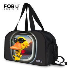 Large Capacity Cartoon Style Women Luggage Travel Bag Foldable Travelling  Duffle Bags Ultralight Large Vogue Fold 6b7f39318f176