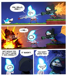 SA2&E :: Starbound: Friendly | Tapastic Comics - image 1