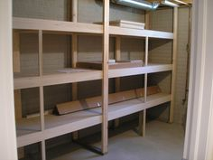 basement storage ideas | Tired of that dark, dusty, damp basement space in your house?Imagine a ...