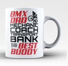 Jobs of a BMX Dad - Mug