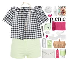 """""""picnic in the park ♡"""" by embrxce ❤ liked on Polyvore featuring Topshop, MANGO, River Island, Bloomingville, Surya, Fuji, ROOM COPENHAGEN, Crabtree & Evelyn, Rebecca Minkoff and Brinkhaus"""