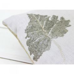 Nova Marble Leaf Cushion - Voyage Maison at Lily and Moor