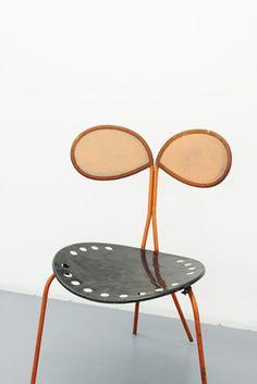 Mathieu Matégot exhibition at Jousse Entreprise, Paris