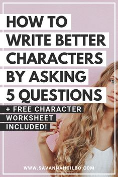 5 Questions to Help You Write Compelling Characters 5 Questions to Help You Write Better Characters Book Writing Tips, English Writing Skills, Creative Writing Prompts, Writing Words, Cool Writing, Fiction Writing, Writing Resources, Writing Help, Start Writing