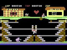 C64 Longplay - Popeye