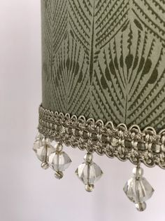 Excited to share this item from my shop: Art Deco inspired drum shade Ceiling Shades, British Standards, William Morris, Drum Shade, Lamp Bases, Drums, Art Deco, Design Inspiration, Handmade Items