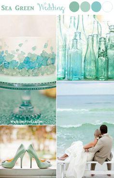 Sea Green Wedding Inspiration | Guest Post - Bummed Bride