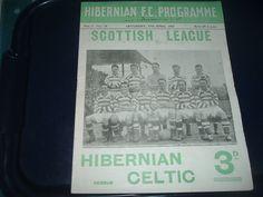 Hibernian v Celtic April 1954 | eBay