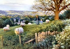 Cotswold Evening by Robert Duncan