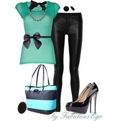 """Leather Love"" by fabulousego on Polyvore"