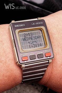Seiko UC-2000 Retro Watches, Old Watches, Vintage Watches, Watches For Men, Nice Watches, Beautiful Watches, Sport Watches, Seiko Vintage, Dragon Print